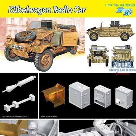 VW Kübelwagen Radio Car