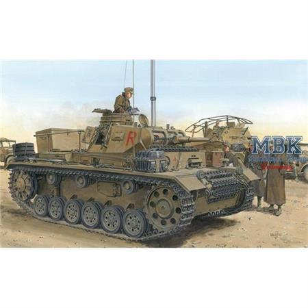 DAK Pz. Bef. Wg. III Ausf. H