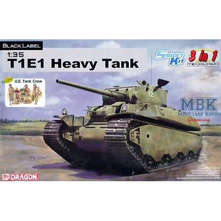 Heavy Tank T1E1  / M6 / M6A1  - 3in1