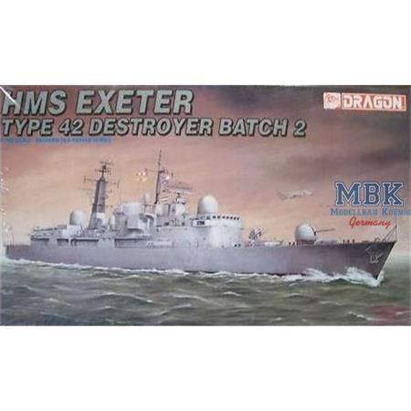TYPE 42 Destroyer Batch HMS Exeter