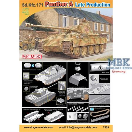 Sd Kfz 171 Panther A late 1/72