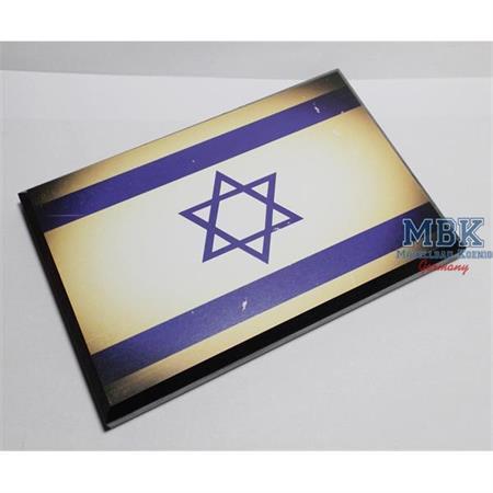 Flaggensockel, Israel, 17x11cm