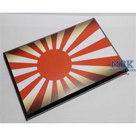 Flaggensockel, Japan, 17x11cm