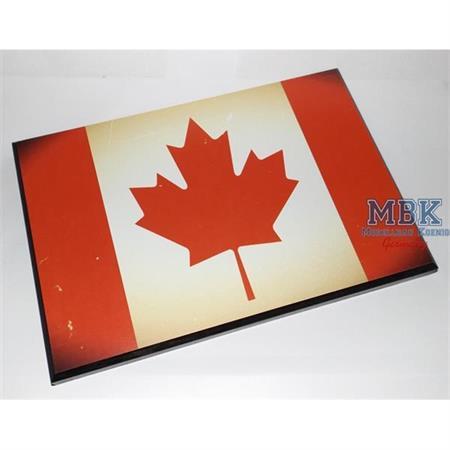 Flaggensockel, Kanada, 28x19cm