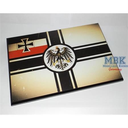 Flaggensockel, Deutsches Reich, 28x19cm