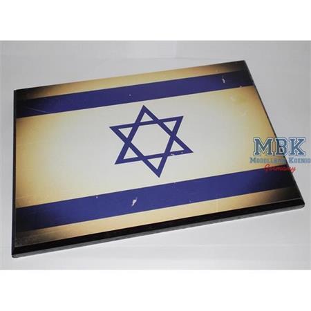 Flaggensockel, Israel, 28x19cm