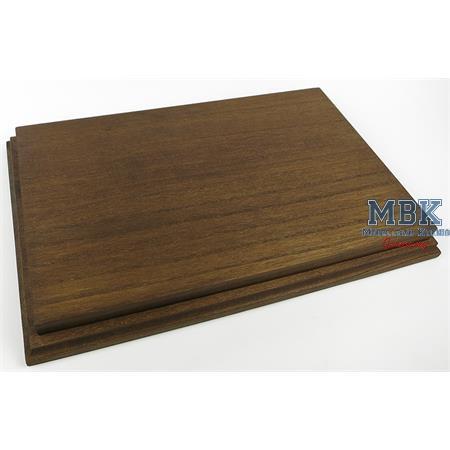 Holzsockel, hoch, 35x22cm (37,5x24,5), Eiche