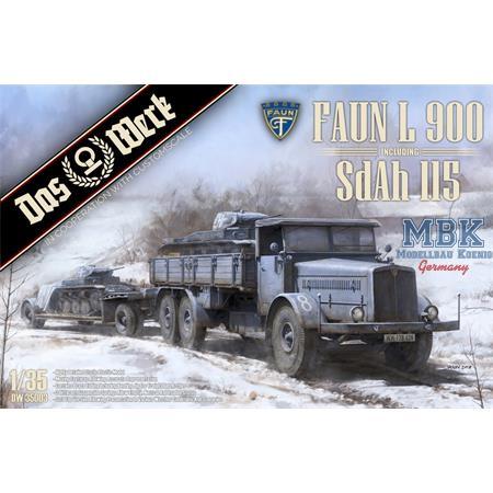 Faun L900 incl. Sd.Ah.115