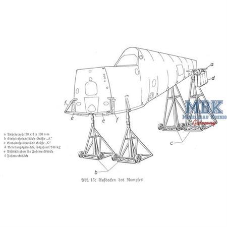 Luftwaffe Jack Stand Set - extended / Doppelpack