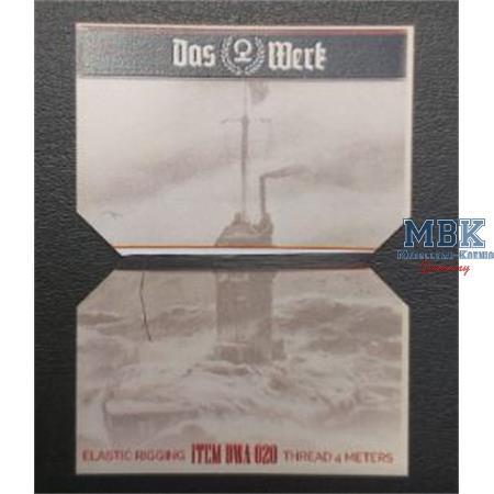 DWA020 Elastic Rigging  Thread - 4 meters