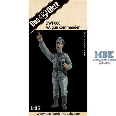 AA gun commander / Flak Kommandant