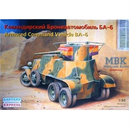 BA-6 Command russ. armoured car