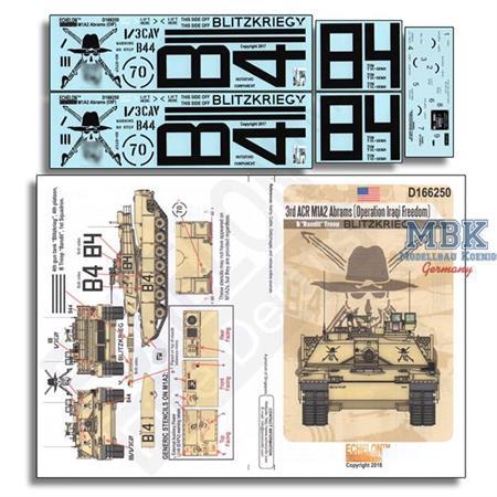 3rd ACR M1A2 Abrams OIF 1/16