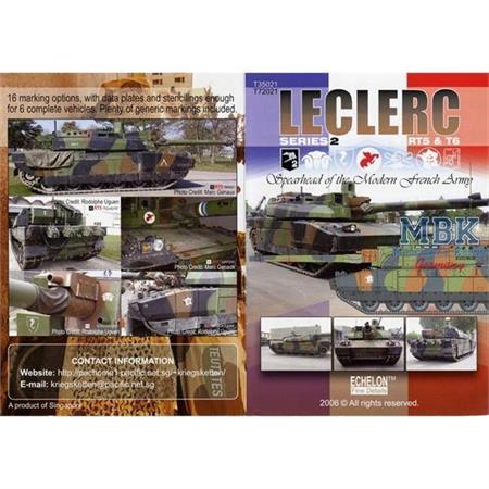 LECLERC Series 2 RT5s & T6s