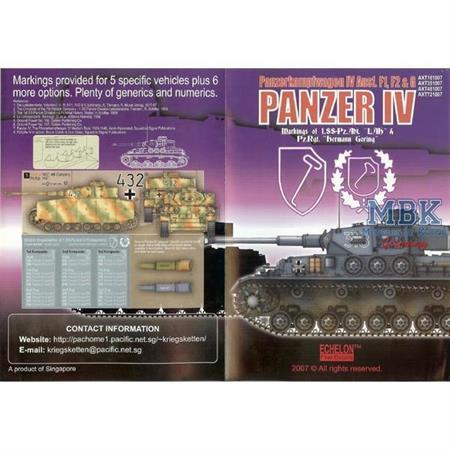 LAH Panzer IV (Ausf F1 & F2s) & HG Panzer IV Ausf