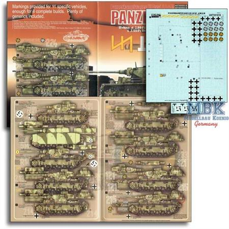Das Reich & Wiking Panzer III Ausf J / L / M