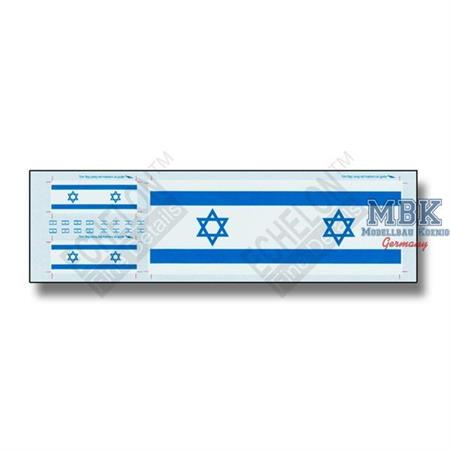 Israeli Antenna Flags & Flag Patches