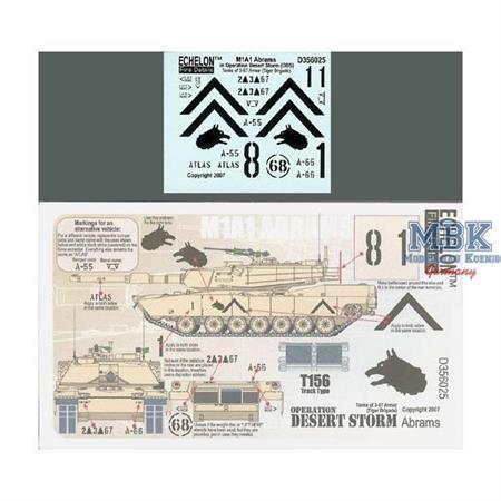 M1A1 Abrams in ODS (3-67 AR, Tiger Brigade)