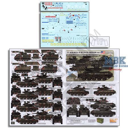 11 ACR  M551 s & M113 s in Vietnam Part 2