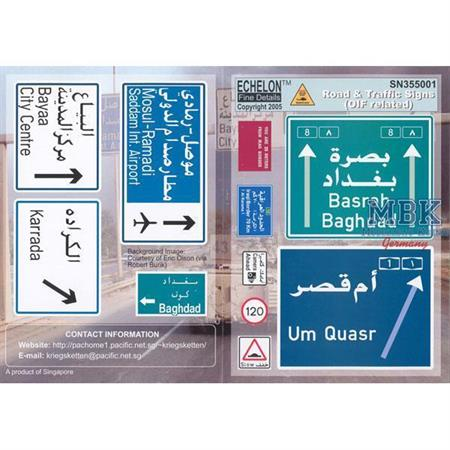 Road & Traffic Signs (OIF related)