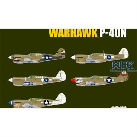 Warhawk P-40N  1/32 --Limitiert--