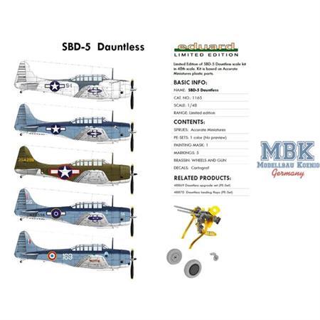SBD-5 Dauntless   Limitiert