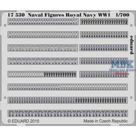 Naval Figures Royal Navy 1/700