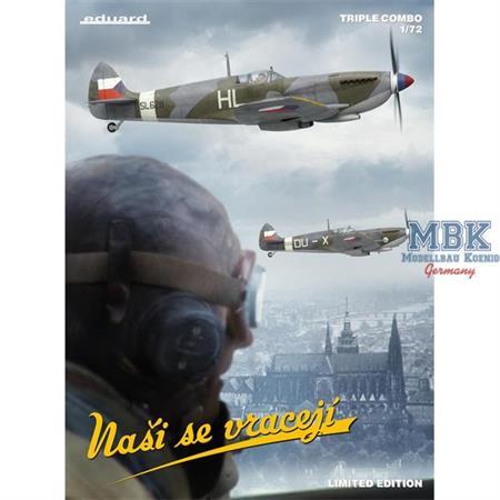 Nasi se vraceji Spitfire Mk IX  - Limited -   1/72