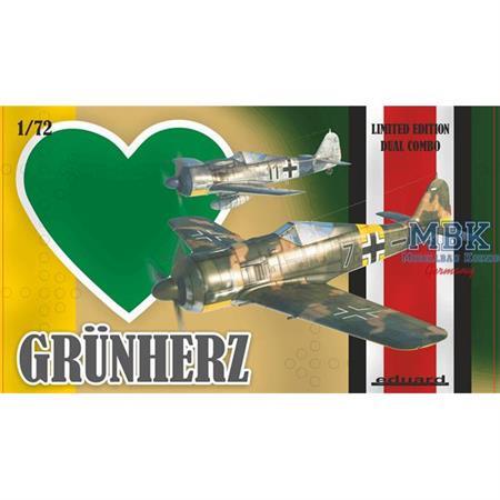 Grün Herz Dual Combo JG 54  - Limited -   1/72