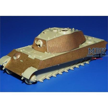 Zimmerit Tiger II Ausf. B Fotoätzsatz 1-72