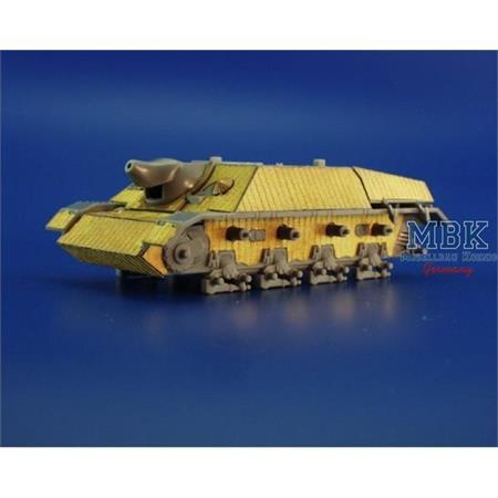 Zimmerit Jagdpanzer IV L/48 1-72