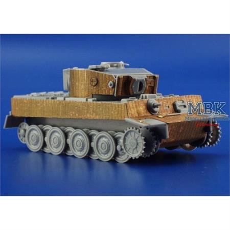 Zimmerit Tiger I Ausf. E Fotoätzsatz 1-72