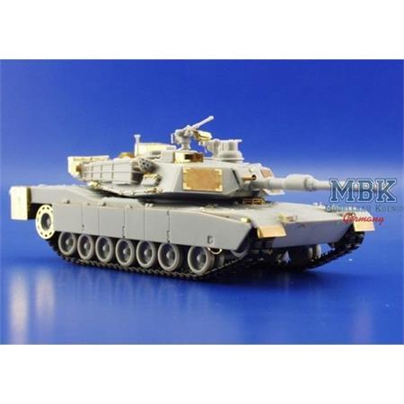 M-1A1/A2 Abrams Fotoäzsatz 1-72