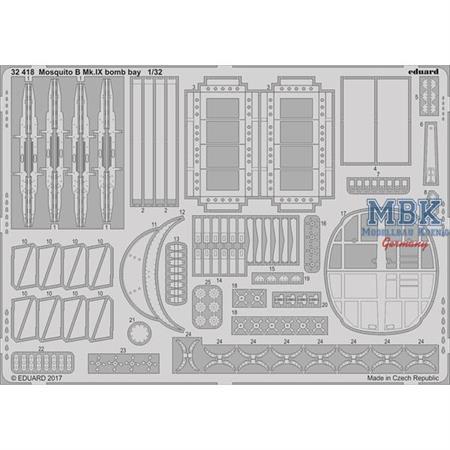 Mosquito B Mk. IX bomb bay 1/32
