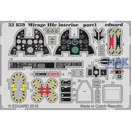 Mirage IIIc   interior