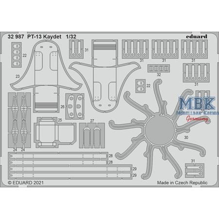 Stearman PT-13/N2S-2/5 Kaydet 1/32