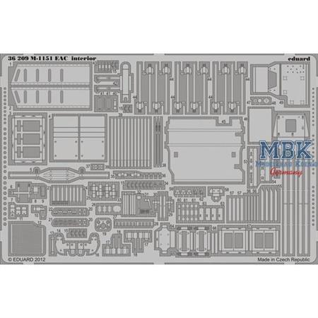 M-1151 EAC Interior