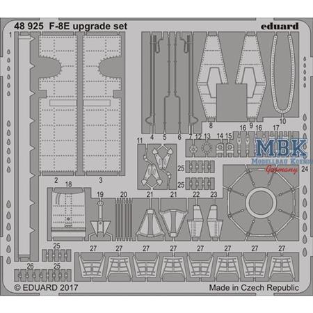 F-8E upgrade set  1/48
