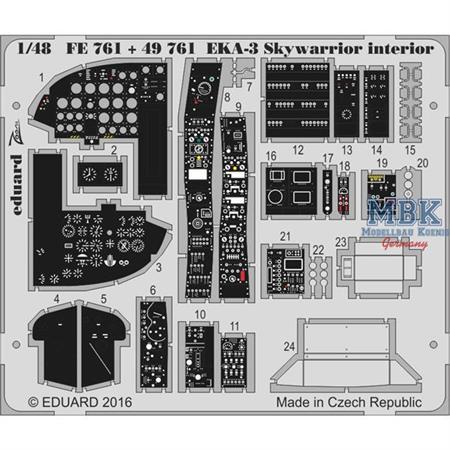 EKA-3 Skywarrior interior