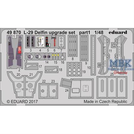 L-29 Delfín upgrade set 1/48