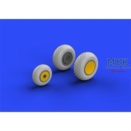 P-38 wheels  1/48