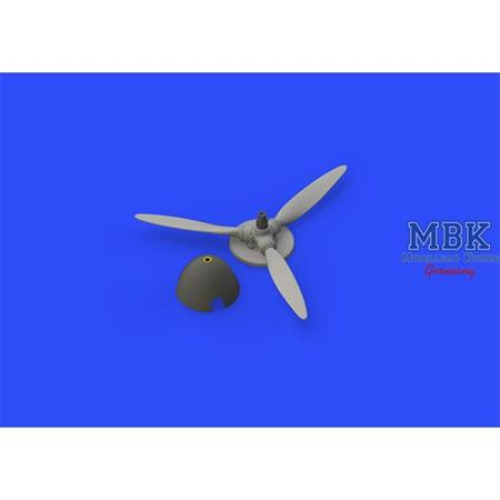 Bf 109F propeller early  1/48