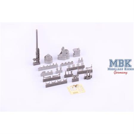 German Submarine 8,8cm gun - Trumpeter 1/48