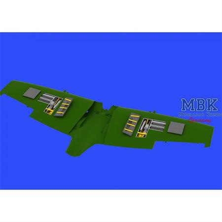 Spitfire Mk.IXe gun bays  1/48
