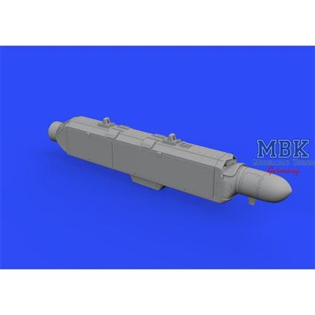 AN/ ALQ-131 (shallow) ECM pod 1/48