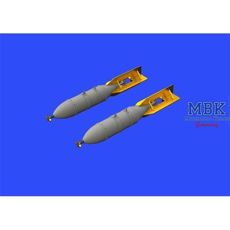 FAB 250 Soviet WWII bombs 1/48