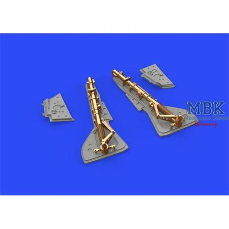 Fw 190A-2 undercarriage legs BRONZE 1/48