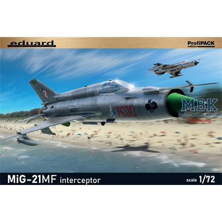 MiG-21MF Interceptor  -Profipack- 1/72