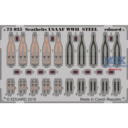 Seatbelts USAAF WWII STEEL
