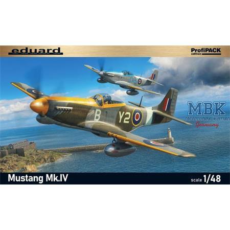 Mustang Mk.IV 1/48 - Profi Pack -